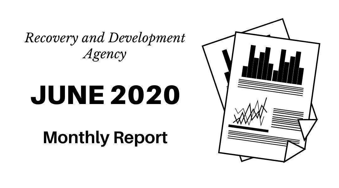 Monthly Report – June 2020